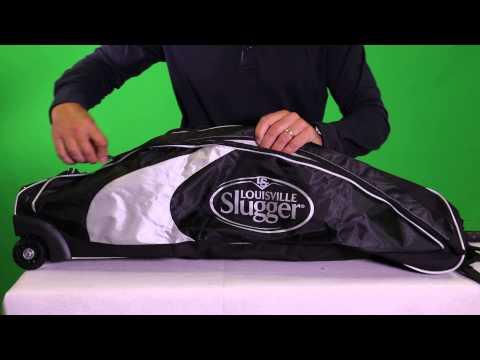 A32-416 Louisville Slugger Series 5 Rig Wheeled Equipment Bag
