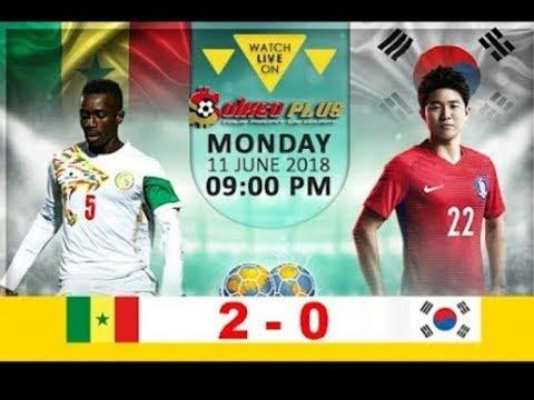 Download Senegal vs South Korea 2-0 All Goals & Highlights 11/06/2018 HD
