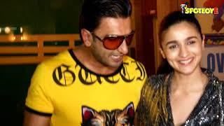 Ranveer Singh and Alia Bhatt at Gully Boy Wrap Up Party | SpotboyE