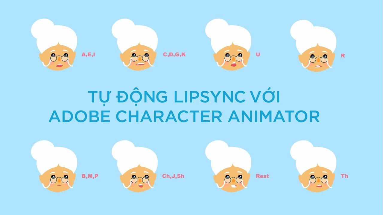 Red Cat Academy: Tự Lipsync nhân vật với Adobe Character Animator