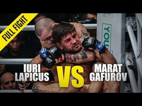 Iuri Lapicus Vs. Marat Gafurov | ONE Full Fight | February 2020