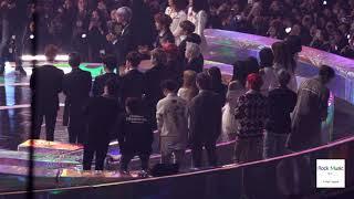 마마무 화사X로꼬 수상을 축하해주는 (BTS, 워너원, 여자친구, 볼빨간사춘기)@181201 락뮤직