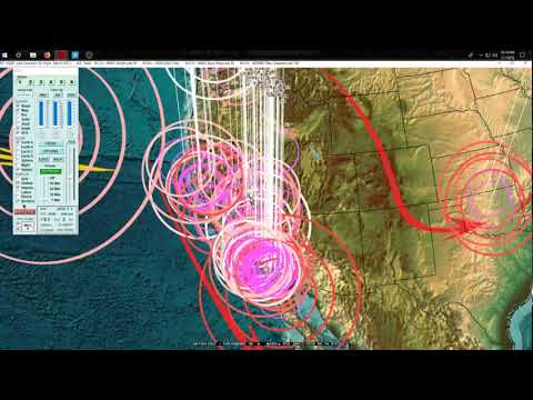 1/01/2018 --  Global Earthquake Forecast - California + Sout