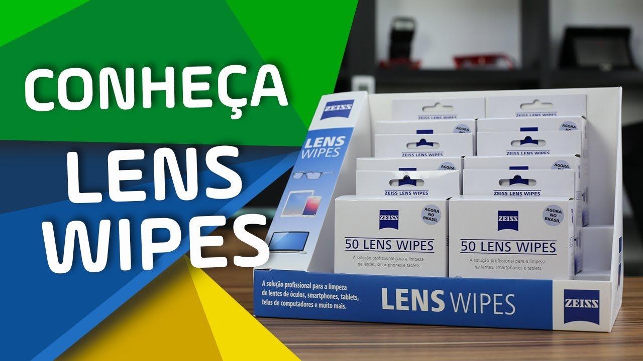 a8897664d9d93 ZEISS LENS WIPES - A SOLUÇÃO PROFISSIONAL PARA A LIMPEZA DE LENTES ...