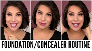 Current Foundation/Concealer Routine + NEW HAIR!