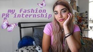 fashion PR internship 🌸 my experience + tips