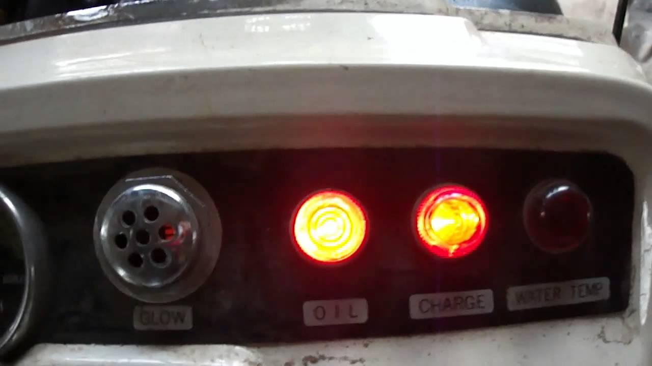 Bolens ISEKI Diesel H1502 Cold Start (30 degrees)