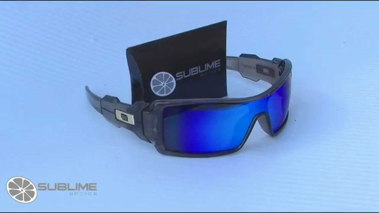 oakley sunglasses oil rig polarized lenses  sublime optics oil rig polarized ice blue replacement lenses for oakley youtube