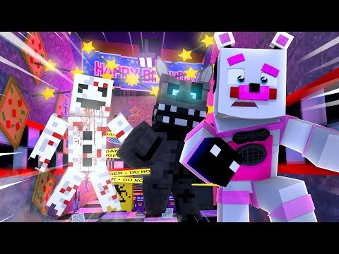 Funtime Freddy's NEW Location is Haunted! Minecraft FNAF Roleplay