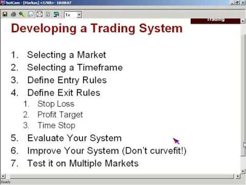 Markus Heitkoetter: Day Trading Series – Chapter V: The 10 Power Principles of Successful Tradin…