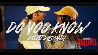 DO YOU KNOW - Diljit Dosanjh | Gaurav N Chandni Choreography | GUIDANCE Tour