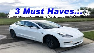 Tesla Model 3 Must Haves Before Delivery..