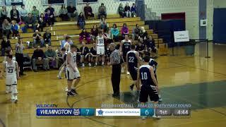 WHS Boys Basketball vs Hamilton Wenham