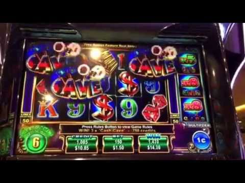 Cash Cave Slot Machine Free Spin Bonus Luxor Casino Las Vegas