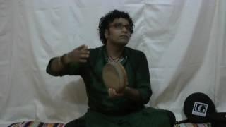 Ultimate Guru Music Kanjira vs Traditional Monitor Lizard skin Kanjira explained by Satish.