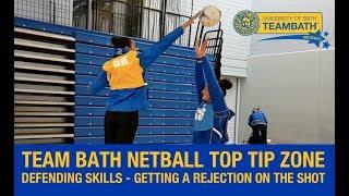 Team Bath Netball Top Tip Zone - defending skills with Josie Janz-Dawson