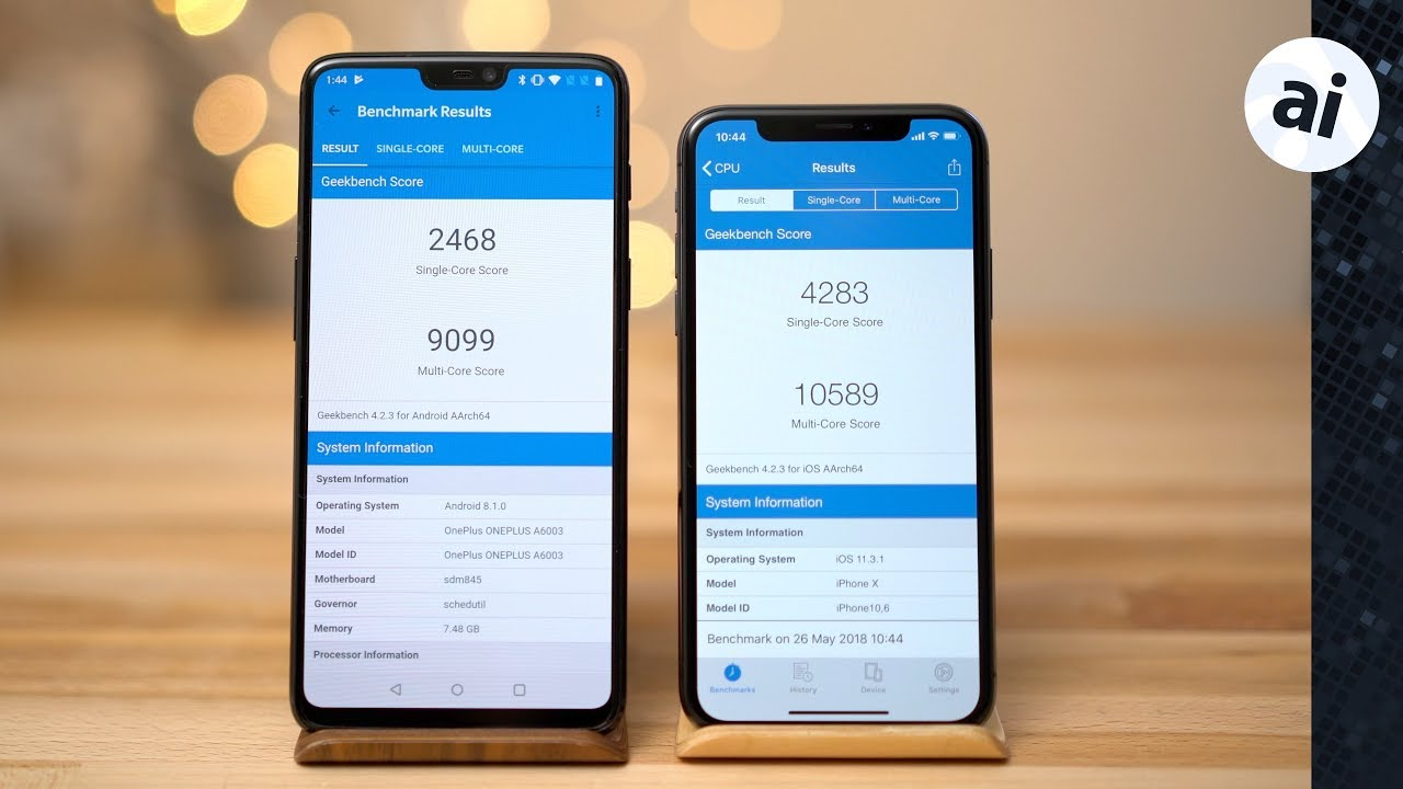 oneplus vs iphone x