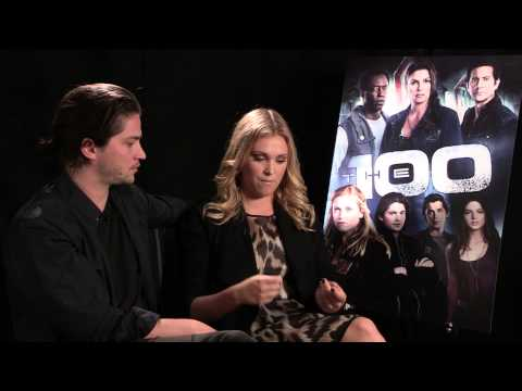 The 100  Thomas McDonell and Eliza Taylor