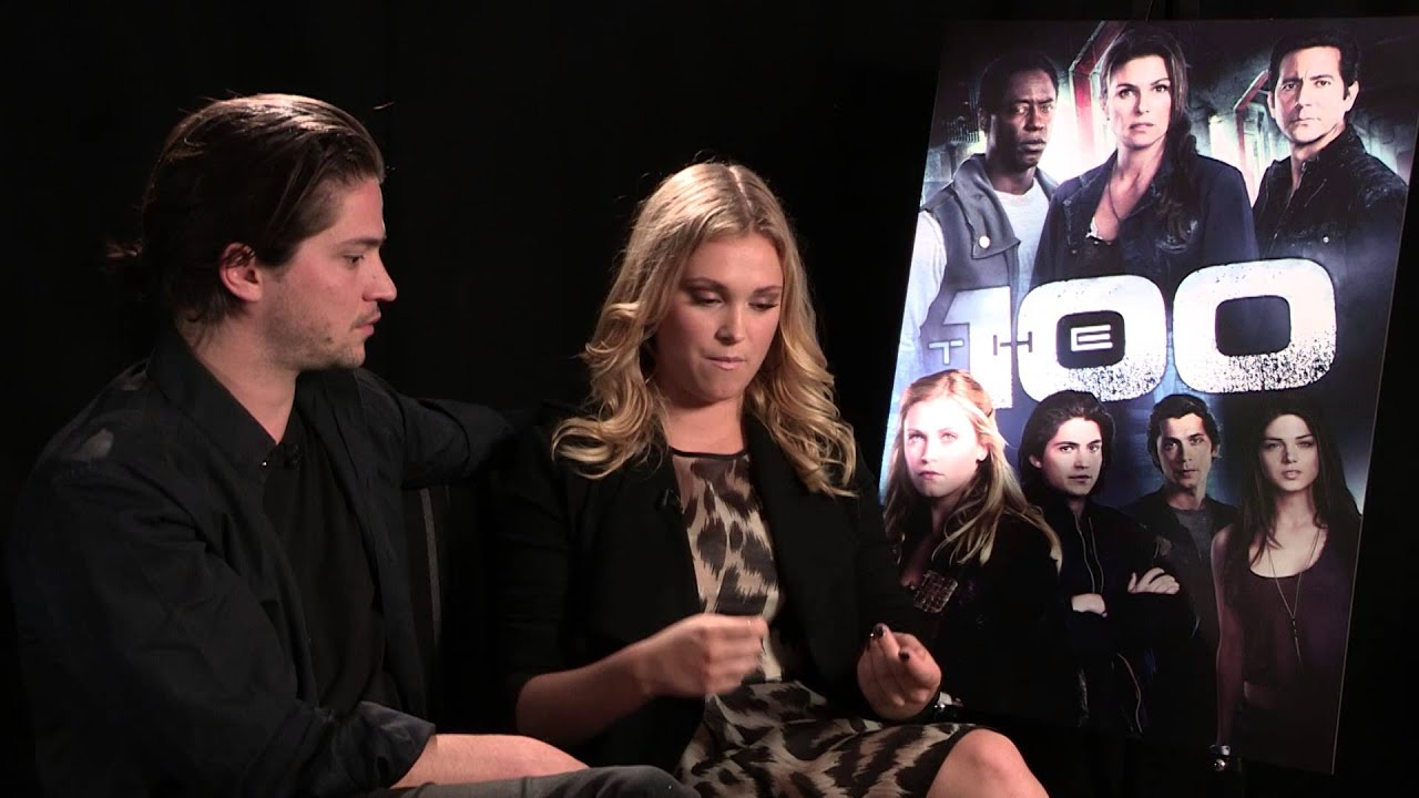 Eliza Taylor and thomas mcdonell
