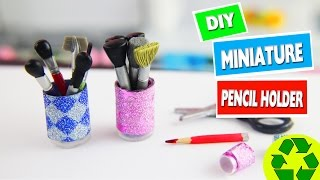 SCHEDULED - CRAFT WITH BARBIE: How to make a doll pencil holder - Easy doll Crafts