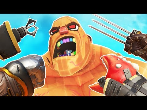 USING ALL THE FISTS to DESTROY GLADIATORS in Gorn VR!