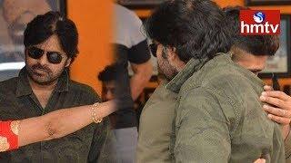 పవన్ కళ్యాణ్ తన తల్లితో కలిసి దీక్షకు దిగారు..! LIVE Updates From Film Chamber | HMTV