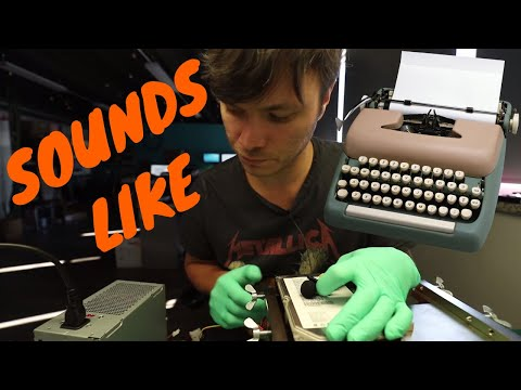 hard drive sounds like a typewriter | data recovery on Seagate hard disk