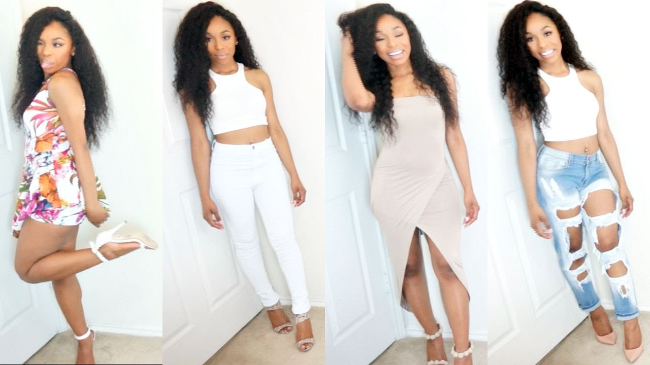 1ede33360da3 Fashion Nova Try-On Haul! - YouTube