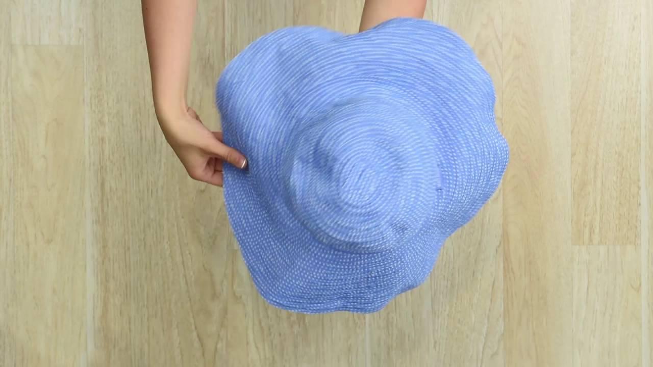 1b20dfe25b5 Wallaroo Hat Company - Fold It - YouTube