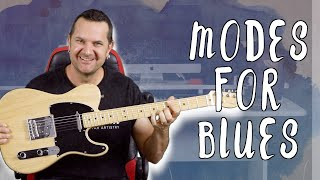Modes For Blues Players