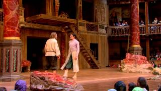 Globe On Screen 2014 - The Tempest:  Ariel and Prospero Clip