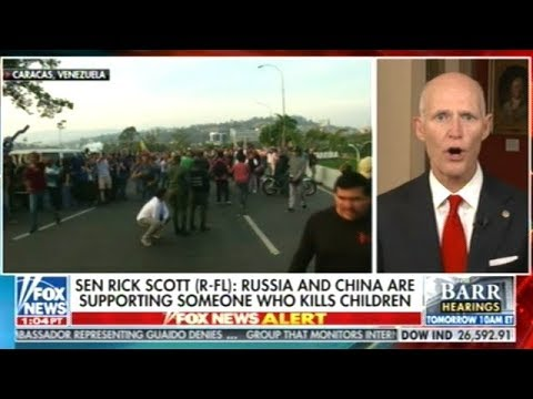 Senator Rick Scott Calls For U.S. Military Action In Venezuela!
