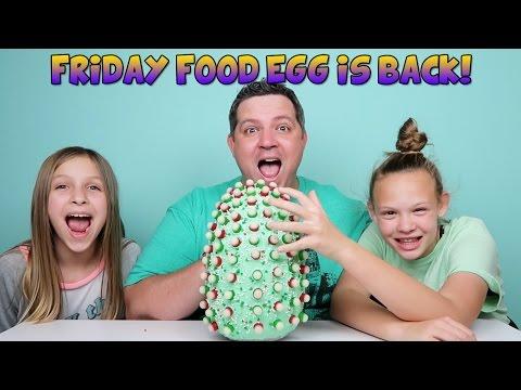 Friday Food Egg - Christmas with Clong & Shopkins Ornaments