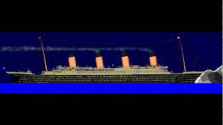 Titanic story on paint (NEW VERSION)