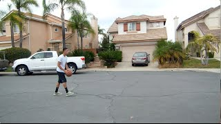 3 Point Contest vs MY MOM!