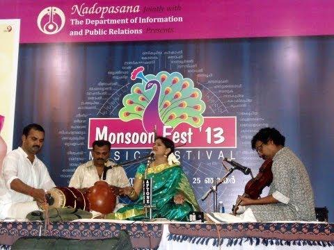 Begada ragam - ANUDINAMU - Tyagaraja Kriti - Nadopassana Kottayam - Sreeranjini Kodampally