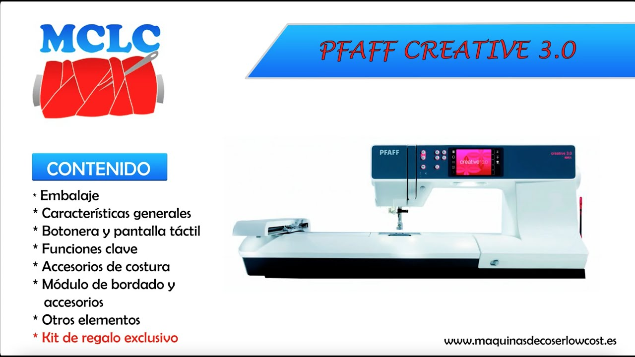 📦📦 PFAFF CREATIVE 3.0 - UNBOXING, ACCESORIOS, DETALLES