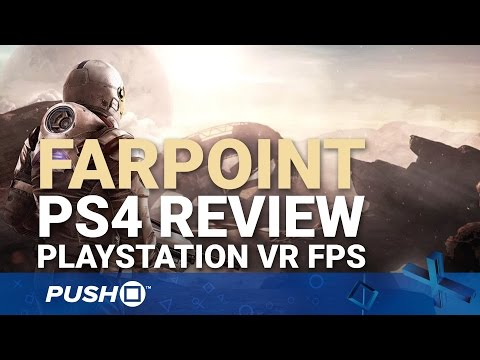 Farpoint PS4 Review: PlayStation VR Aim Controller FPS | PlayStation 4 | PS4 Pro Gameplay Footage