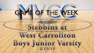 MVCC Game of the Week: Stebbins v. West Carrollton Boys JV