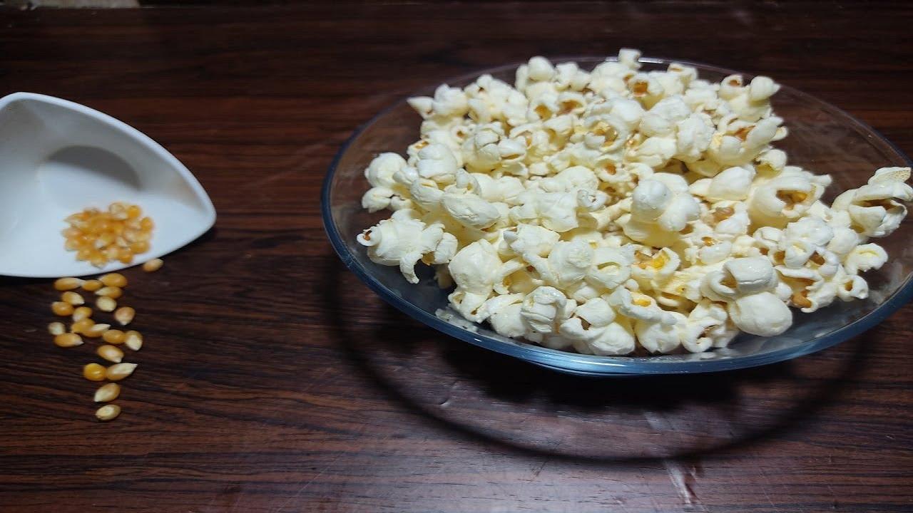 Salted Popcorn Recipe at Home | Homemade Popcorn in easy steps | Crispy Popcorn l Ramadan Recipes