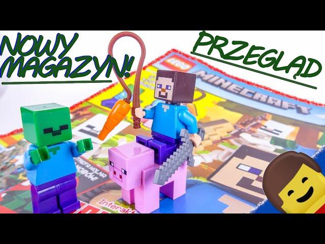 NOWY MAGAZYN ! LEGO MINECRAFT nr 1/2021 / Przegląd