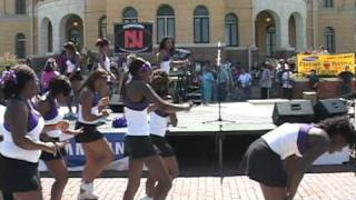 Boogie Woogie - Wiley College Cheerleaders & Nonjohn at 2010 FireAnt Festival - Part 4 of 6