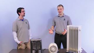 What's the most efficient type of electric heater?