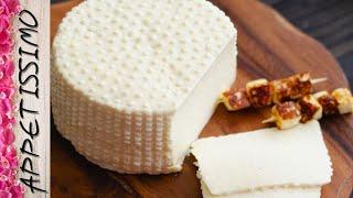 СЫР ПАНИР сыр который можно жарить Простой рецепт домашнего сыра из молока 3 ингредиента