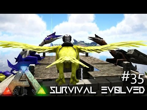ARK: Survival Evolved - PERFECT TAME & NEW TRIBE MEMBER !!! [Ep 35] (Server Gameplay)