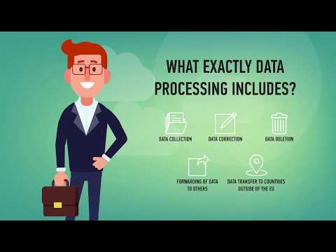 What GDPR means for people and businesses. Legal aspects.
