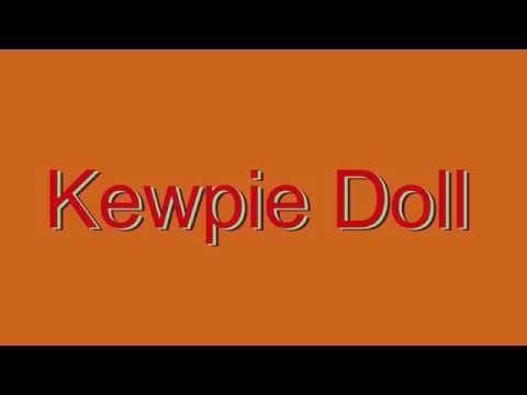 Kewpie Doll Lamp
