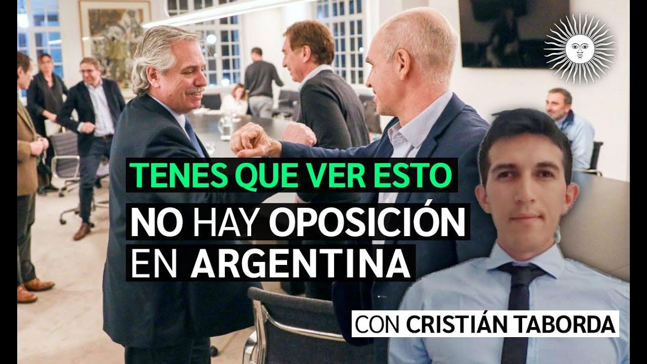 ¿Existe OPOSICIÓN en Argentina o solo hay un PARTIDO OFICIAL del NUEVO ORDEN MUNDIAL? [Enterate ACÁ]
