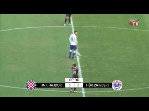 HNK Hajduk - HŠK Zrinjski 2:0 (cijela utakmica)
