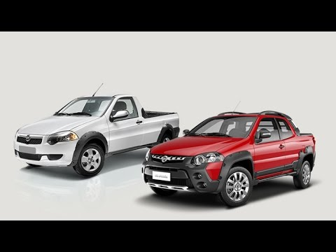 2015 Dodge Truck >> 2015 Ram 750 is a Mexican Fiat Strada - YouTube